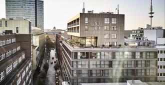 SIDE Design Hotel Hamburg - Hăm-buốc - Cảnh ngoài trời