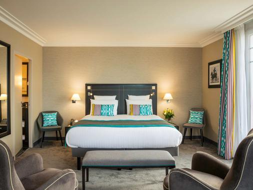 水星保勒馬傑斯迪克酒店 - 拉博爾埃斯庫布拉克 - 拉波勒 - 臥室
