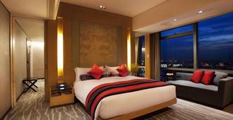 The Longemont Hotel Shanghai - שנחאי - חדר שינה