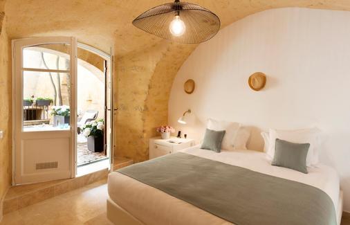 Le Vieux Castillon - Castillon-du-Gard - Schlafzimmer
