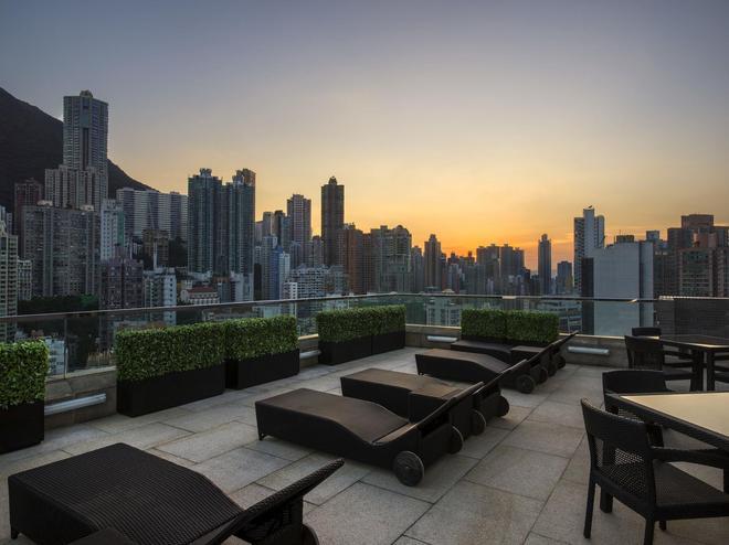 99 Bonham - Hong Kong - Balcón
