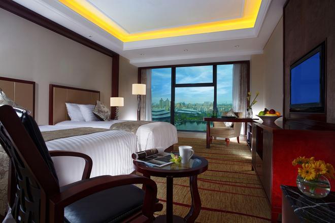 Sanli New Century Grand Hotel Zhejiang - Hangzhou - Bedroom