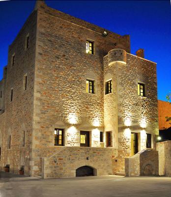 Areos Polis Hotel - Areopoli - Building