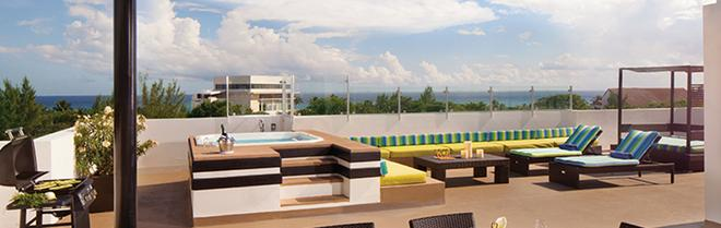 Residences at The Fives - Playa del Carmen - Ban công