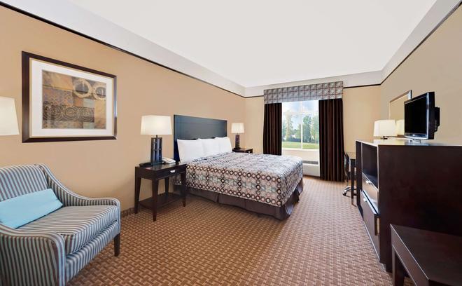 Super 8 by Wyndham Odessa TX - Odessa - Bedroom