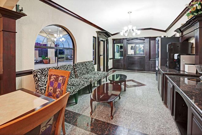 休斯頓機場南速 8 酒店 - 休士頓 - 休士頓 - 大廳