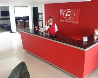 Europa Hotel Boutique - Manizales - Front desk