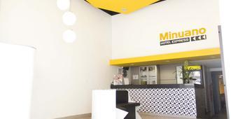 Hotel Minuano Express - Porto Alegre - Rezeption