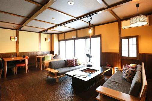 K之家高山綠洲品質旅舍 - 高山 - 客廳