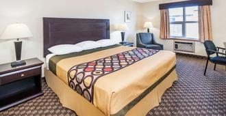 Super 8 by Wyndham Calgary/Airport - Calgary - Bedroom