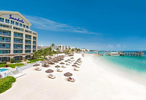 Sandals Royal Bahamian - Couples Only - Nassau - Beach