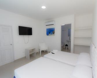 Hotel Palma Linda - Covenas - Bedroom