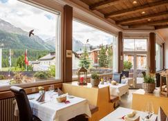 Europa St Moritz Hotel - Sankt Moritz - Restaurante
