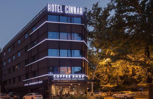 Hotel Cinnah - Ankara - Rakennus