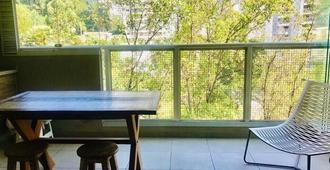 Ap New 2 Suites Ter. Gourmet Complete Leisure. Shoppings Morumbi Town / Southern Garden - São Paulo - Balcó