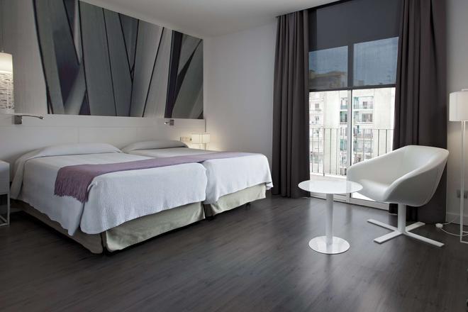 NH 巴塞隆拿體育場酒店 - 巴塞隆拿 - 巴塞隆納 - 臥室