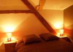 Atmosphere-character Mountain Apartment - Huez - Bedroom