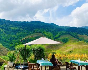Dragon's Den Hostel In Longji Rice Terraces - Heping - Patio