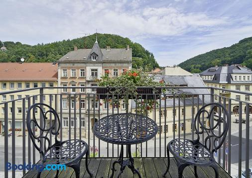 Hotel Elbresidenz an der Therme Bad Schandau - Bad Schandau - Balcony