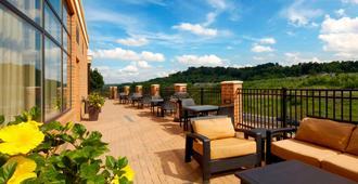 Courtyard by Marriott Pittsburgh Airport Settlers Ridge - Pittsburgh - Varanda