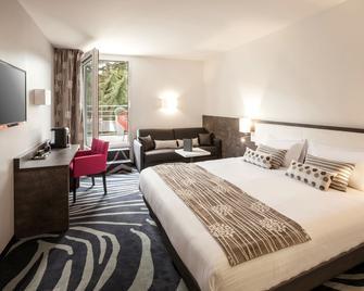 Au Comté D'ornon Hôtel & Spa - Logis - Gradignan - Schlafzimmer