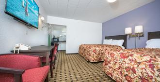 Downtown Motel - Гэйлорд - Спальня