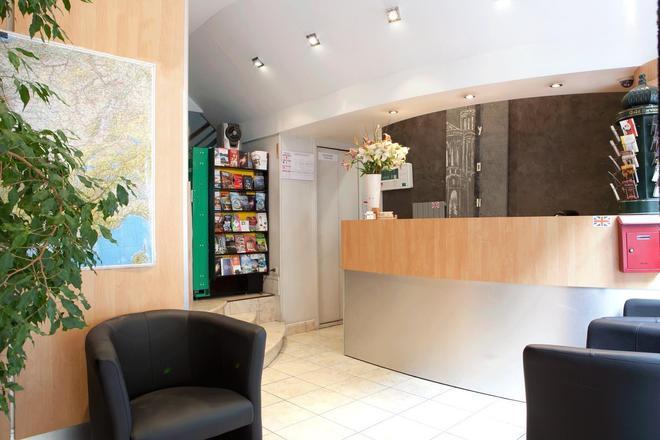 Hotel des Savoies Lyon Perrache - Lyon - Front desk