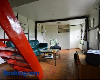 Vakantiewoningen 'Hoeve de Witte Olifant' - Noorbeek - Huiskamer