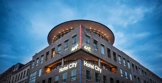 Art Hotel City Leipzig - Leipzig - Byggnad