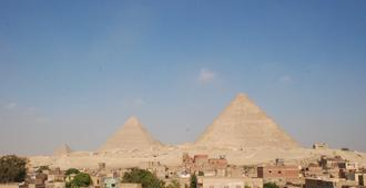 Sunny Pyramids View - Cairo