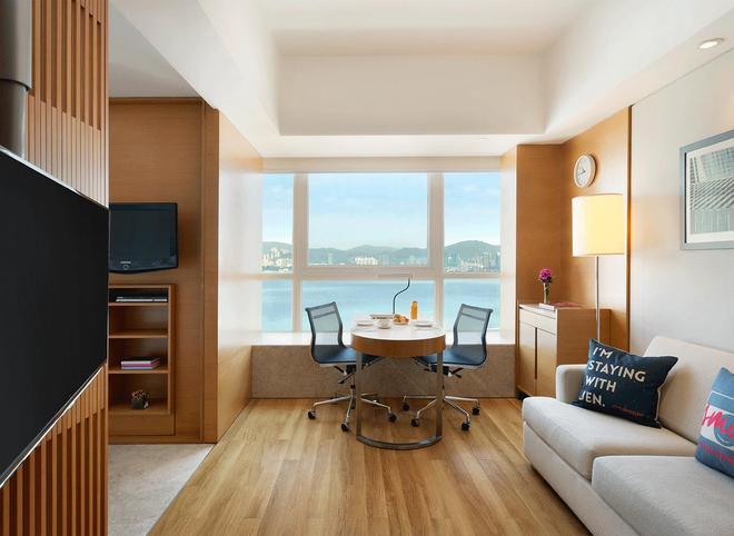 Hotel Jen Hong Kong by Shangri-La - Hongkong - Makuuhuone