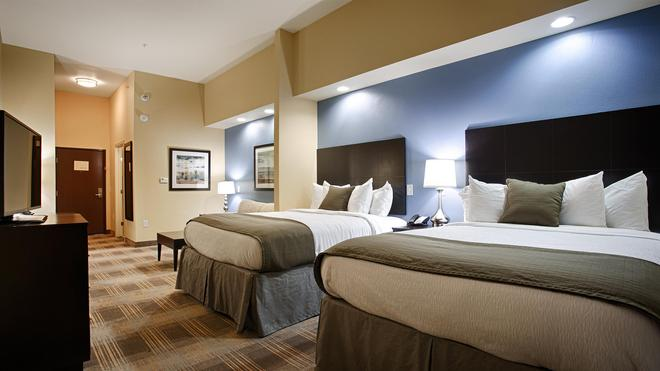 Best Western PLUS Fort Worth Forest Hill Inn & Suites - Forest Hill - Bedroom