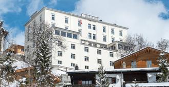 Hotel-Restaurant Bellevue - Davos - Outdoors view