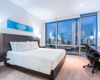 NH Collection Barranquilla Smartsuites Royal - Barranquilla - Schlafzimmer