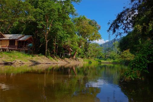 Khao Sok Riverside Cottage - Khlong Sok - Außenansicht