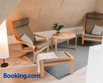 Ferienwohnung am Federsee - Bad Buchau - Living room