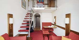 Living Hotel Kaiser Franz Joseph - Viena - Sala de estar