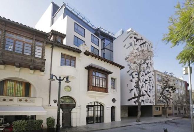 Hotel Cumbres Lastarria - Santiago - Building