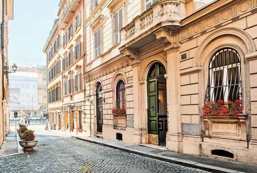 Hotel Barocco - Rome - Building