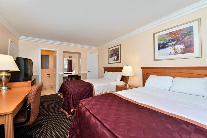 Americas Best Value Inn Oakland Lake Merritt - Ώκλαντ - Κρεβατοκάμαρα