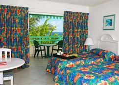 ブルー オーキッズ ビーチ ホテル - ブリッジタウン - 寝室