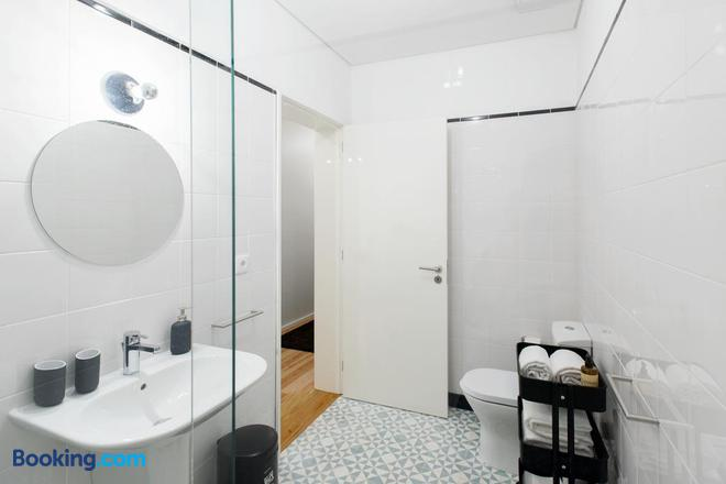 Oporto Serviced Apartments Alvares Cabral - Porto - Bathroom