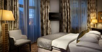 Art Deco Imperial Hotel - פראג - חדר שינה