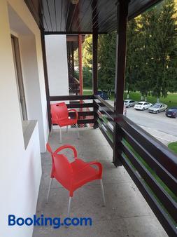 Hotel Cristal-Stadion - Sinaia - Balcony