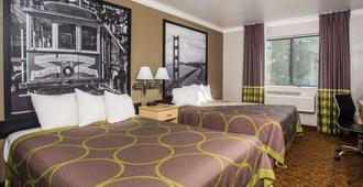 Super 8 by Wyndham Vacaville - Vacaville - Κρεβατοκάμαρα