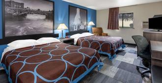 Super 8 by Wyndham Spokane Valley - Spokane - Bedroom