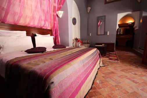 Riad Les Clefs Du Sud - Marrakech - Makuuhuone