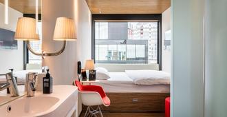 citizenM Rotterdam - רוטרדם - חדר שינה
