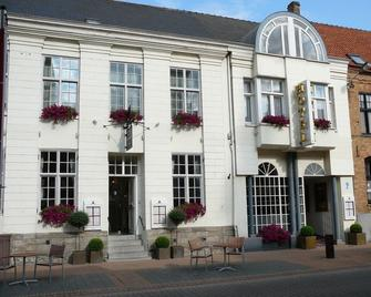 Hostellerie Croonhof - Veurne - Gebäude