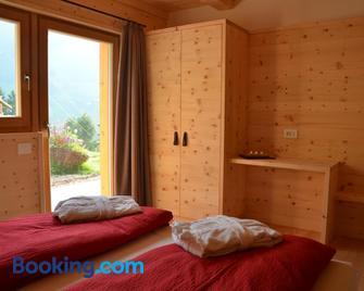 Naturchalet Rinkwein - Marebbe - Bedroom